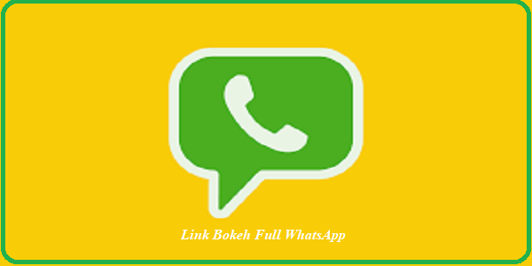 Link Bokeh Full WhatsApp