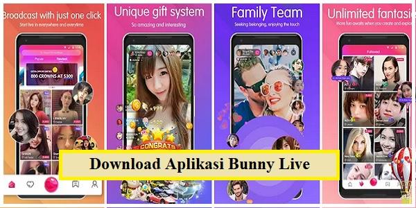 Aplikasi Bunny Live