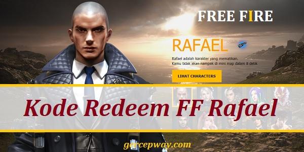 Kode Redeem FF Rafael
