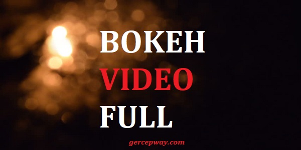 Aplikasi Bokeh Video Full Apk 2020 No Sensor
