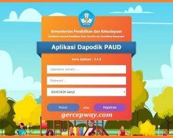 Aplikasi Dapodik PAUD Versi 3.5 0