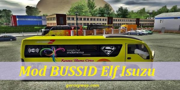 Download Mod BUSSID Elf Isuzu MBS