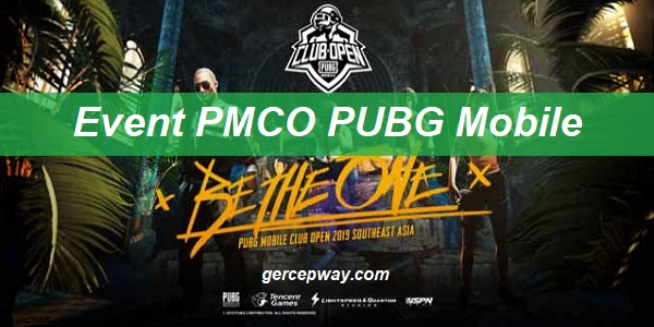 Event PMCO PUBG Mobile