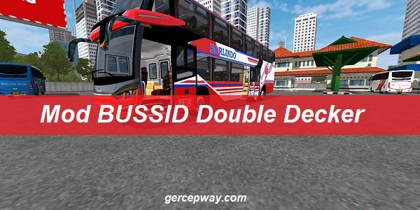 Mod BUSSID Double Decker