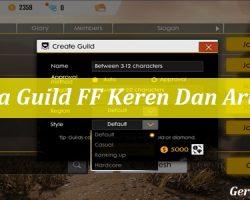 Nama Guild FF Keren Dan Artinya