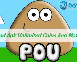 Pou Mod Apk Unlimited Coins And Max Level