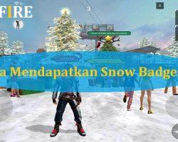 Cara Mendapatkan Snow Badge FF