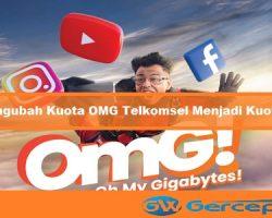 Cara Mengubah Kuota OMG Telkomsel Menjadi Kuota Flash (Reguler)