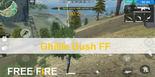 Ghillie Bush FF (Free Fire)