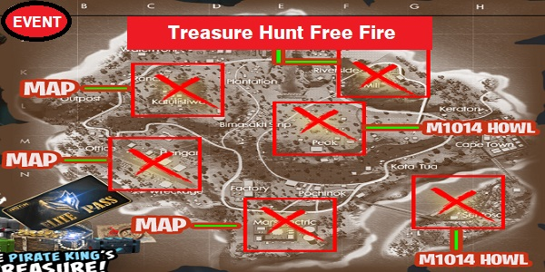 Treasure Hunt Free Fire