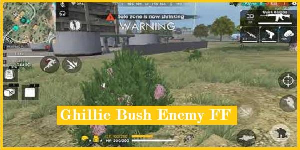 Ghillie Bush Enemy FF
