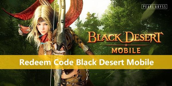 Redeem Code Black Desert Mobile