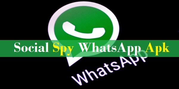 Social Spy WhatsApp Terbaru 2020 Apk