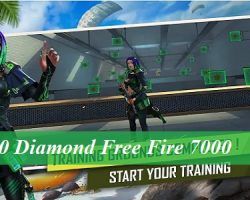 70 Diamond Free Fire 7000