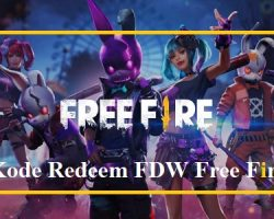 Kode Redeem Bundle FDW Free Fire