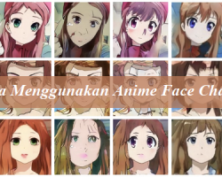 Cara Menggunakan Anime Face Changer