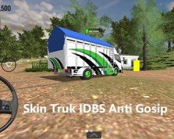 Skin Truk IDBS Anti Gosip