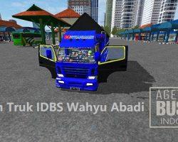 Skin Truk IDBS Wahyu Abadi