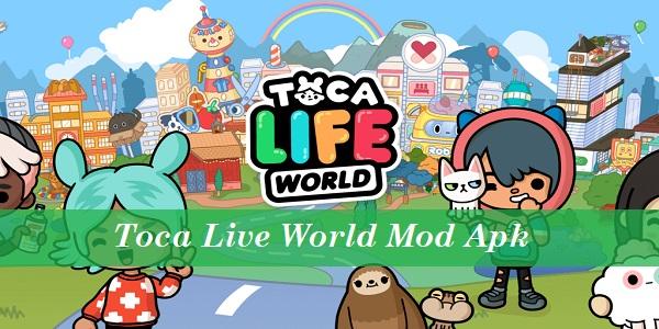 Toca Live World Mod Apk