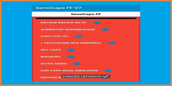 SensiCapa FF V7 Apk