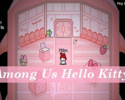 Among Us Hello Kitty Apk