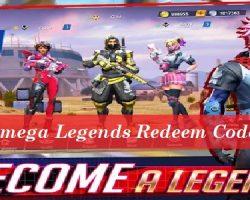 Omega Legends Redeem Code