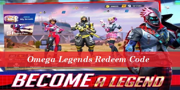 Omega Legends Redeem Code