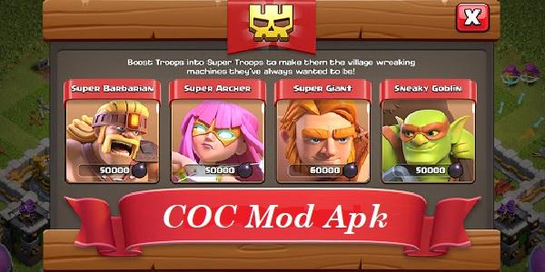 COC Mod Apk 2021