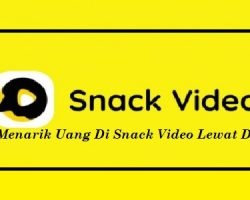Cara Menarik Uang Di Snack Video Lewat DANA