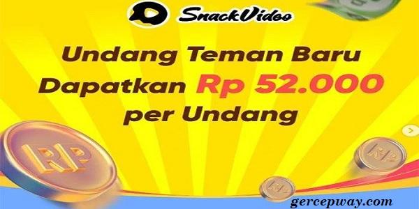 Cara Mengambil Uang Di Snack Video