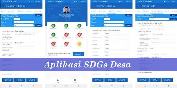 Aplikasi SDGs Desa Versi 4.1