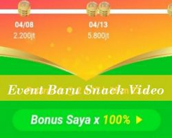 Event Baru Snack Video