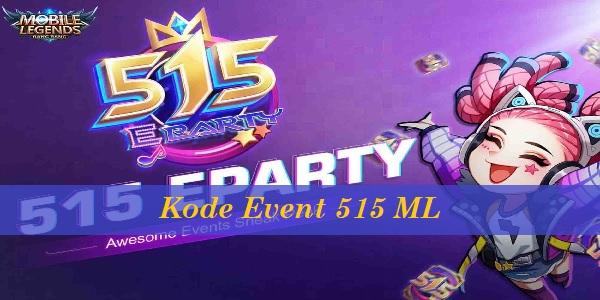 Kode Event 515 ML