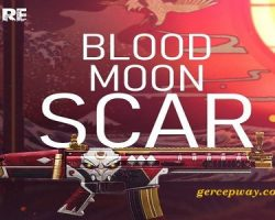 Kode Redeem FF Scar Blood Moon Shopee