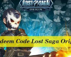 Redeem Code Lost Saga Origin 2021
