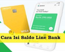Cara Isi Saldo Line Bank